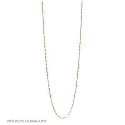 Jewelry Promo Pandora Chains 14K Gold Chain Necklace