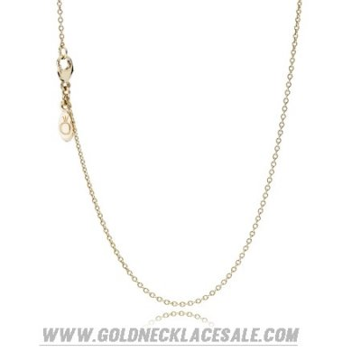 Jewelry Promo Pandora Chains Necklace Chain 14K Gold