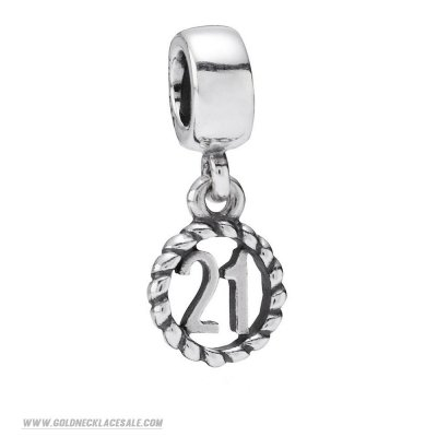 Jewelry Promo Pandora Birthday Charms 21St Birthday Pendant Charm