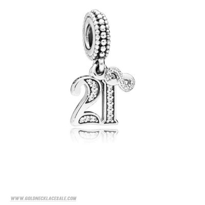 Jewelry Promo 21 Years Of Love Hanging Charm