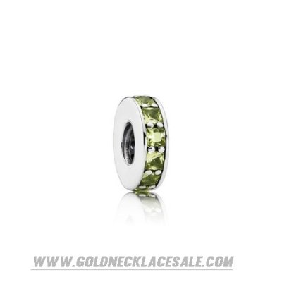 Jewelry Promo Pandora Spacers Charms Eternity Spacer Olive Green Crystal