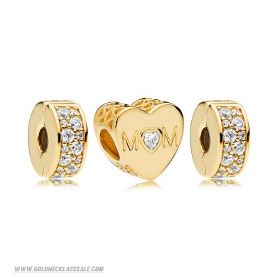 Jewelry Promo Pandora Shine Mother Heart Charm Pack