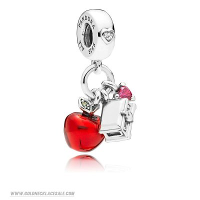 Jewelry Promo Disney Snow White'S Apple And Heart Hanging Charm