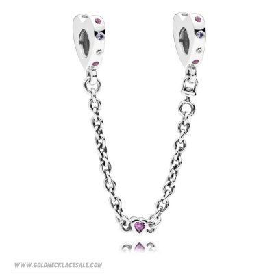 Jewelry Promo Bright Hearts Safety Chain