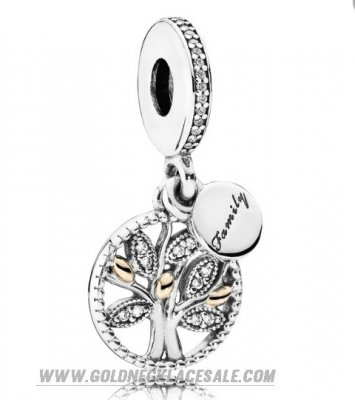 Jewelry Promo Pandora Family Charms Family Heritage Pendant Charm Clear Cz