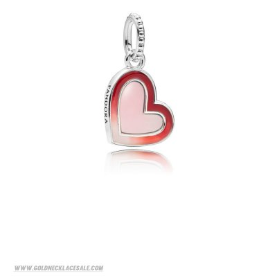 Jewelry Promo Asymmetric Heart Of Love Hanging Charm