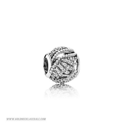 Jewelry Promo Pandora Passions Charms Chic Glamour Majestic Feathers Clear Cz