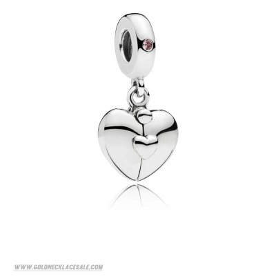 Jewelry Promo Family Heart Hanging Charm
