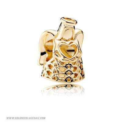 Jewelry Promo Pandora Collections Angel Of Grace Charm 14K Gold