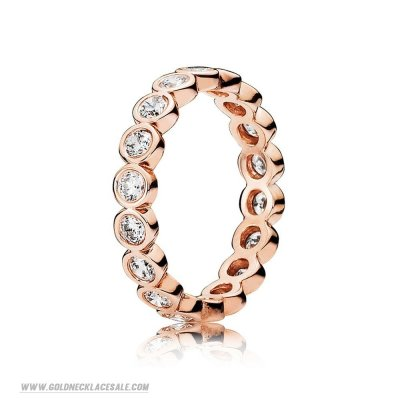 Jewelry Promo Pandora Rings Alluring Brilliant Ring Pandora Rose Clear Cz