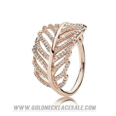 Jewelry Promo Pandora Rings Light As A Feather Ring Pandora Rose Clear Cz