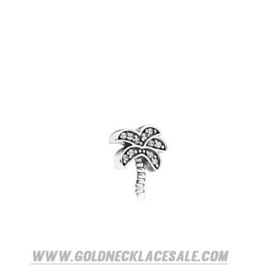 Jewelry Promo Pandora Lockets Sparkling Palm Tree Petite Charm