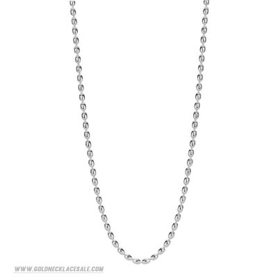 Jewelry Promo Pandora Chains Sterling Silver Ball Chain Necklace