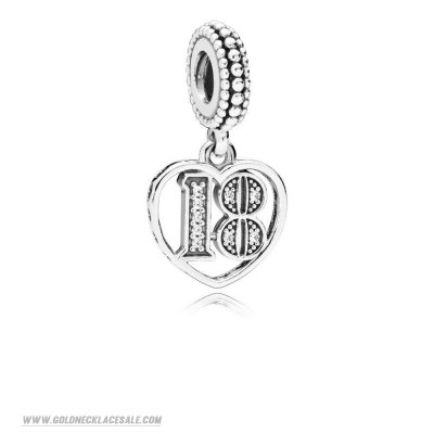 Jewelry Promo 18 Years Of Love Hanging Charm