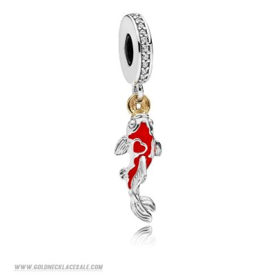 Jewelry Promo Good Fortune Carp Hanging Charm
