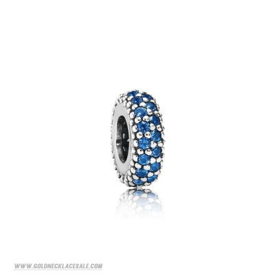 Jewelry Promo Pandora Inspirational Charms Inspiration Within Spacer Blue Crystal