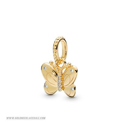 Jewelry Promo Pandora Shine Decorative Butterfly Necklace Pendant