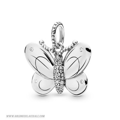 Jewelry Promo Decorative Butterfly Necklace Pendant