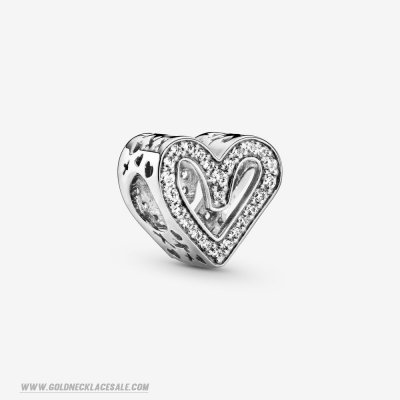 Jewelry Promo Glittering Drawn Heart Charm
