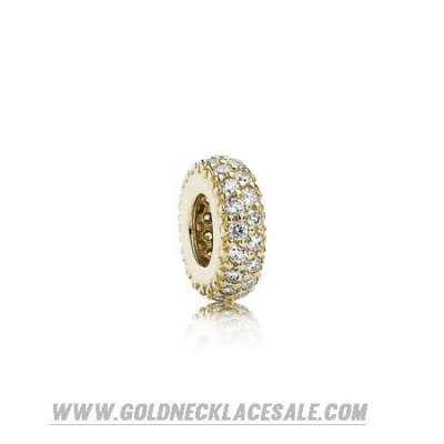 Jewelry Promo Pandora Spacers Charms Inspiration Within Spacer 14K Gold Cz