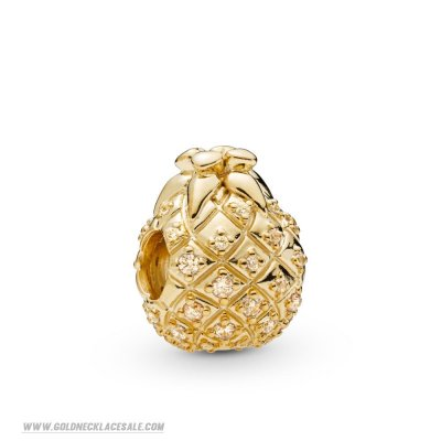 Jewelry Promo Pandora Shine Golden Pineapple Charm