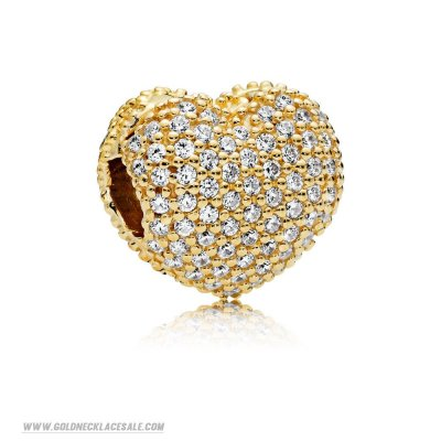 Jewelry Promo Pandora Shine Pave Open My Heart Clip