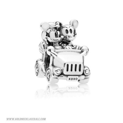 Jewelry Promo Disney Mickey And Minnie Vintage Car Charma