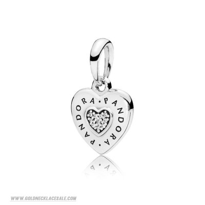 Jewelry Promo Logo Heart Necklace Pendant