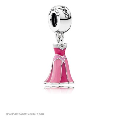 Jewelry Promo Pandora Disney Charms Aurora'S Dress Pendant Charm Mixed Enamel