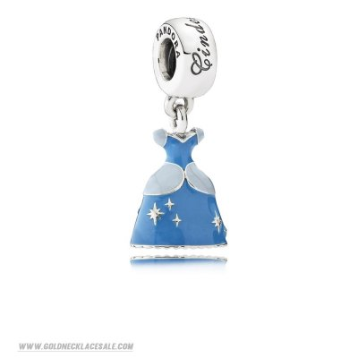 Jewelry Promo Pandora Disney Charms Cinderella'S Dress Pendant Charm Mixed Enamel
