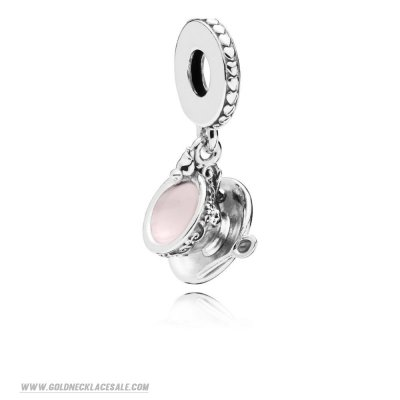 Jewelry Promo Enchanted Tea Cup Hanging Charm