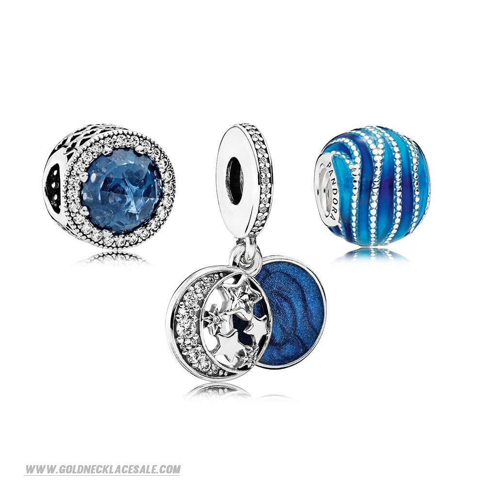 Jewelry Promo Brilliant Blue Charm Pack