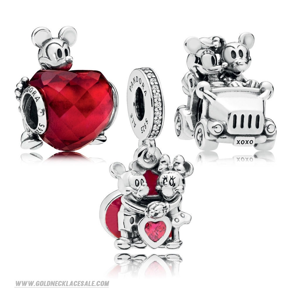 Jewelry Promo Disney Mickey And Minnie Love Charm Pack