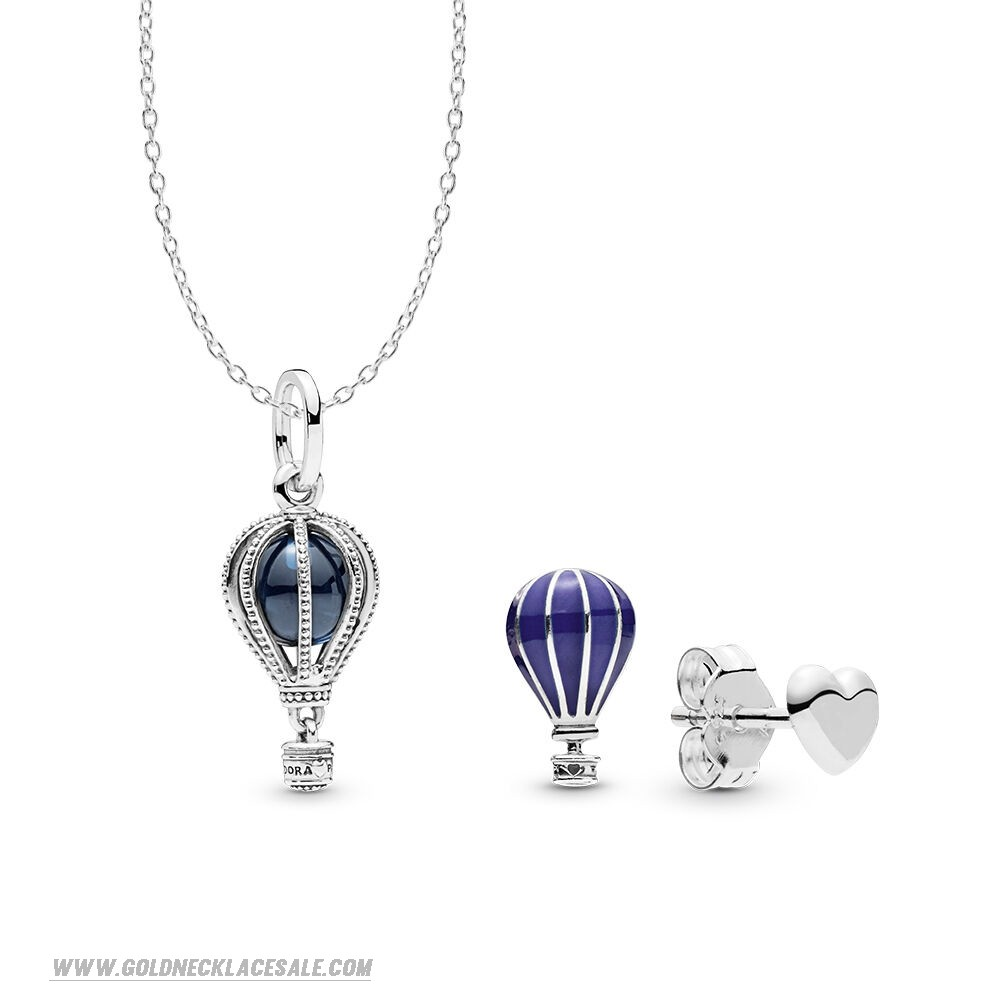 Jewelry Promo Air Balloon Necklace And Earring Set