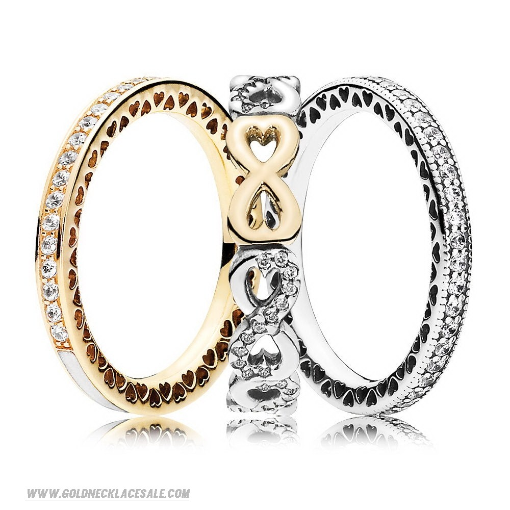 Jewelry Promo Infinite Sparkle Ring Stack