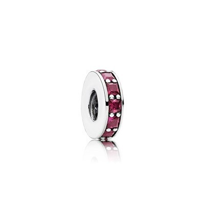 Jewelry Promo Pandora Spacers Charms Eternity Spacer Synthetic Ruby