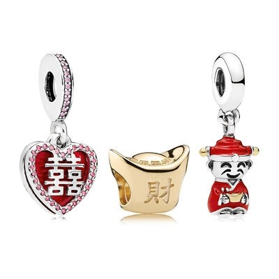 Jewelry Promo Happiness Fortune And Luck Charm Pack